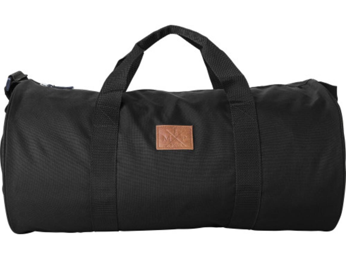 Reisetasche / Dufflebag 'Daily' aus 600D Polyester – Schwarz bedrucken, Art.-Nr. 001999999_8492