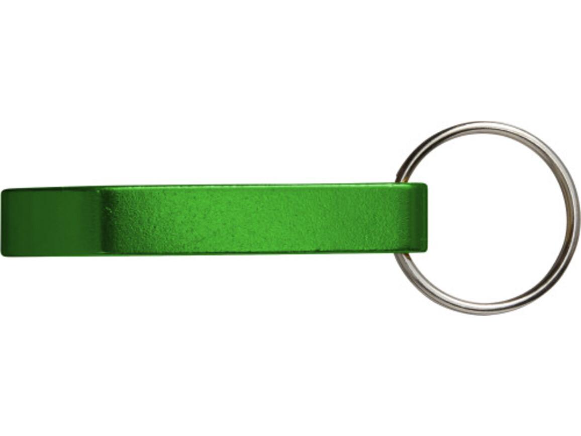 Kapselheber 'Basic' aus Aluminium – Grün bedrucken, Art.-Nr. 004999999_8517