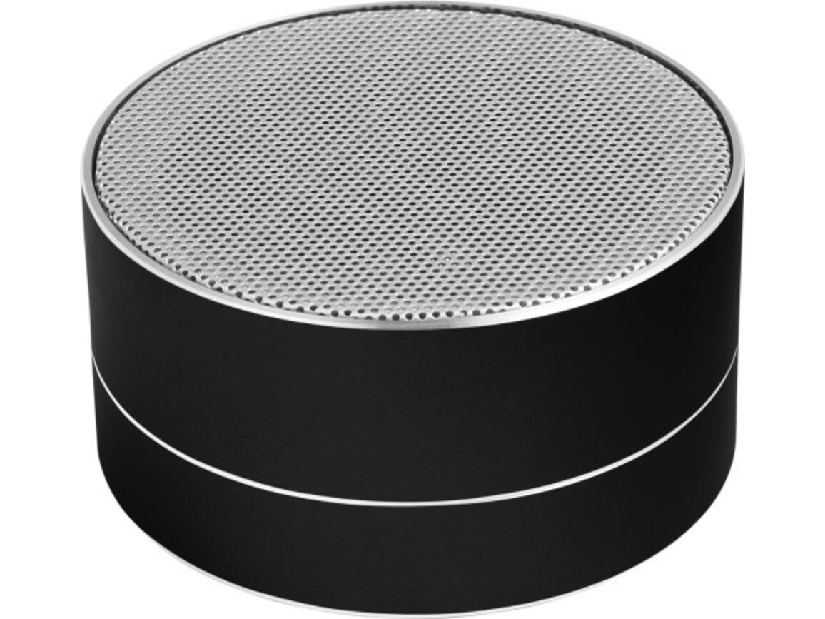 Kabelloser Lautsprecher 'Samba' aus Aluminium – Schwarz bedrucken, Art.-Nr. 001999999_8680