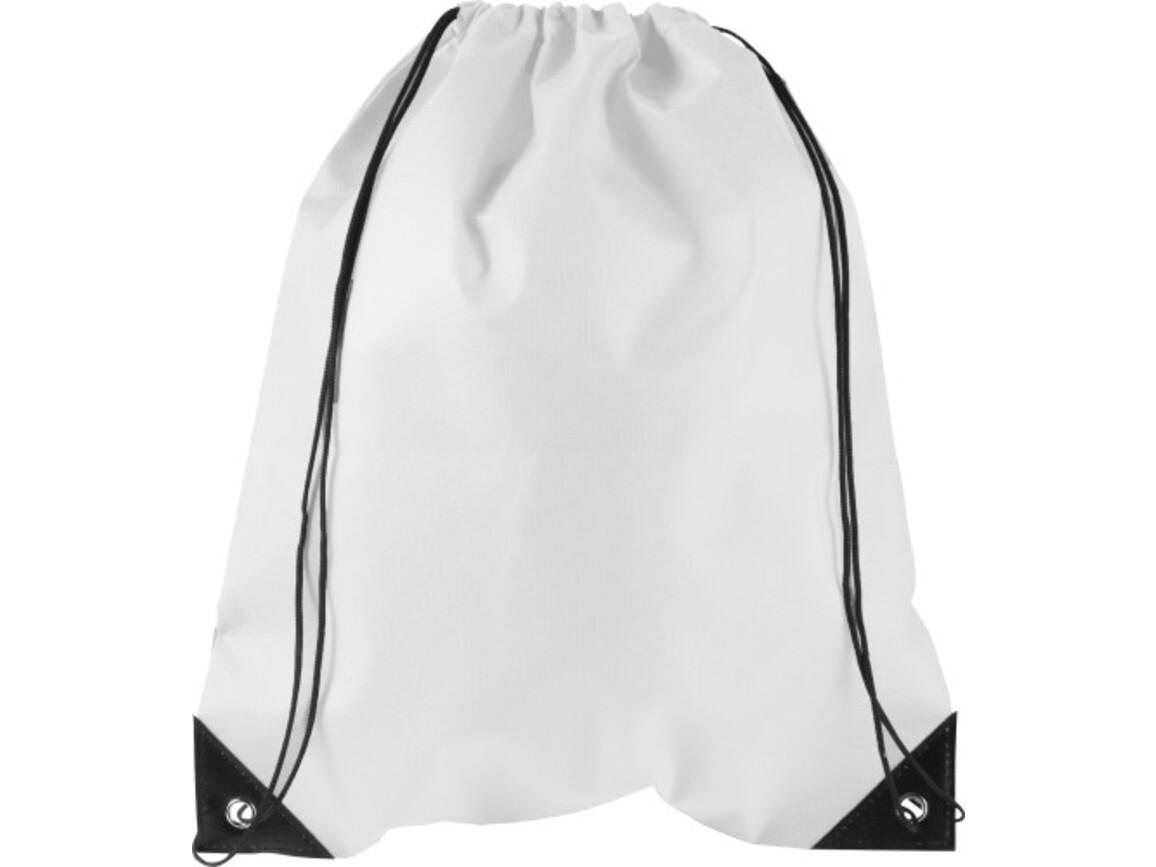 Turnbeutel 'Jim' aus Nonwoven – Weiß bedrucken, Art.-Nr. 002999999_8692