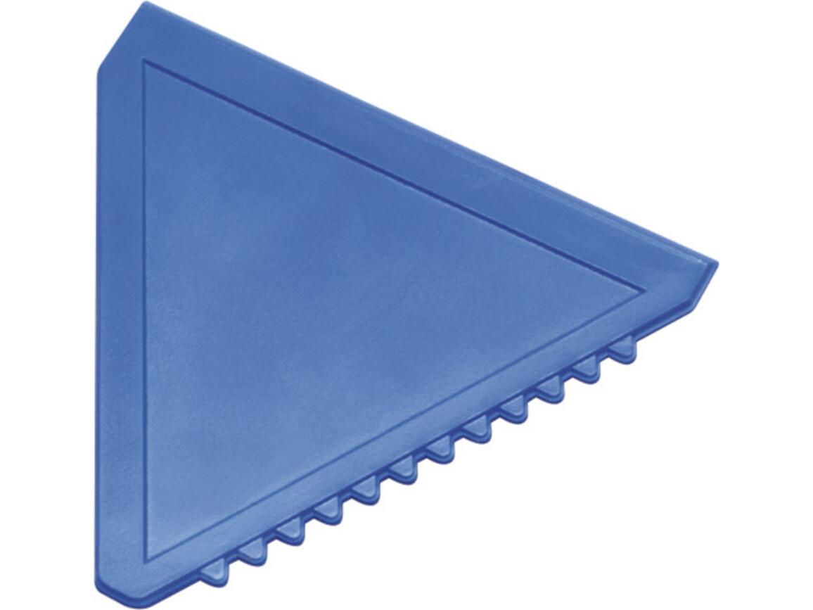 Eiskratzer  'Classic' aus Kunststoff – Blau bedrucken, Art.-Nr. 005999999_8761