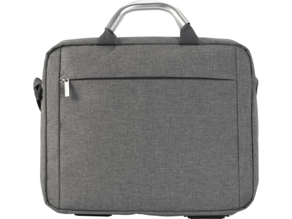 Konferenz und Laptoptasche 'Manager' aus 600D Polycanvas – Grau bedrucken, Art.-Nr. 003999999_8774