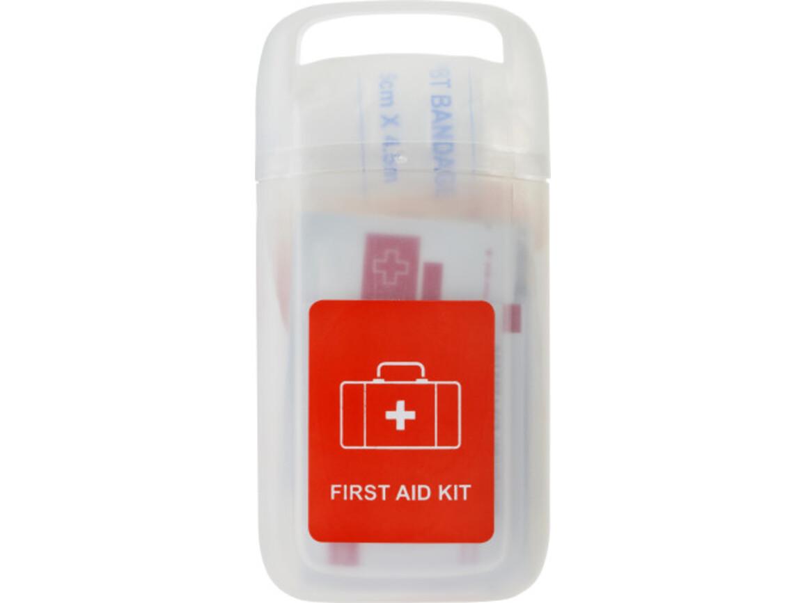 Erste-Hilfe Set 'Doc' in einer transparenten Hülle – Neutral bedrucken, Art.-Nr. 021999999_8992