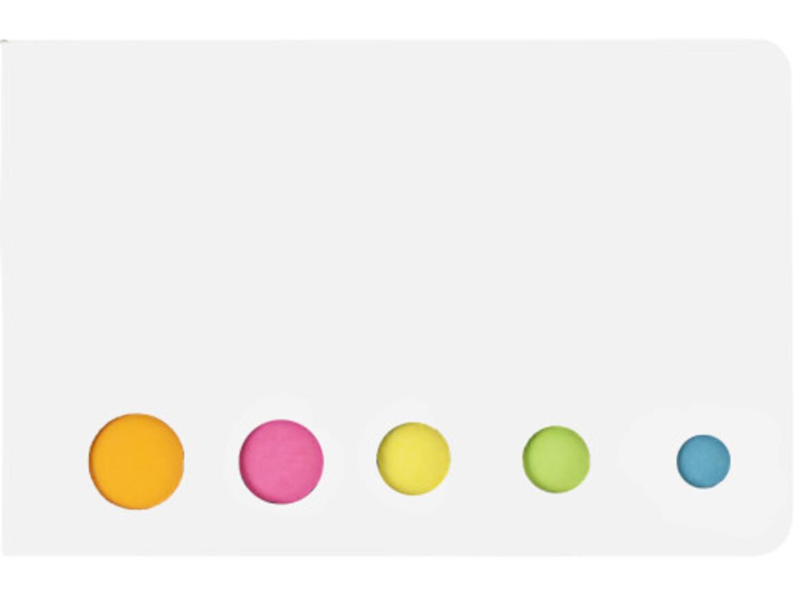 Haftnotizen 'Sticker' aus Karton – Weiß bedrucken, Art.-Nr. 002999999_9104