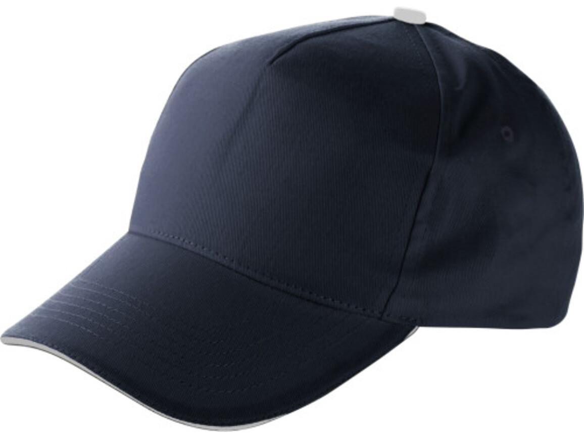 Baseball-Cap 'Dallas' aus Baumwolle – Blau bedrucken, Art.-Nr. 005999999_9114