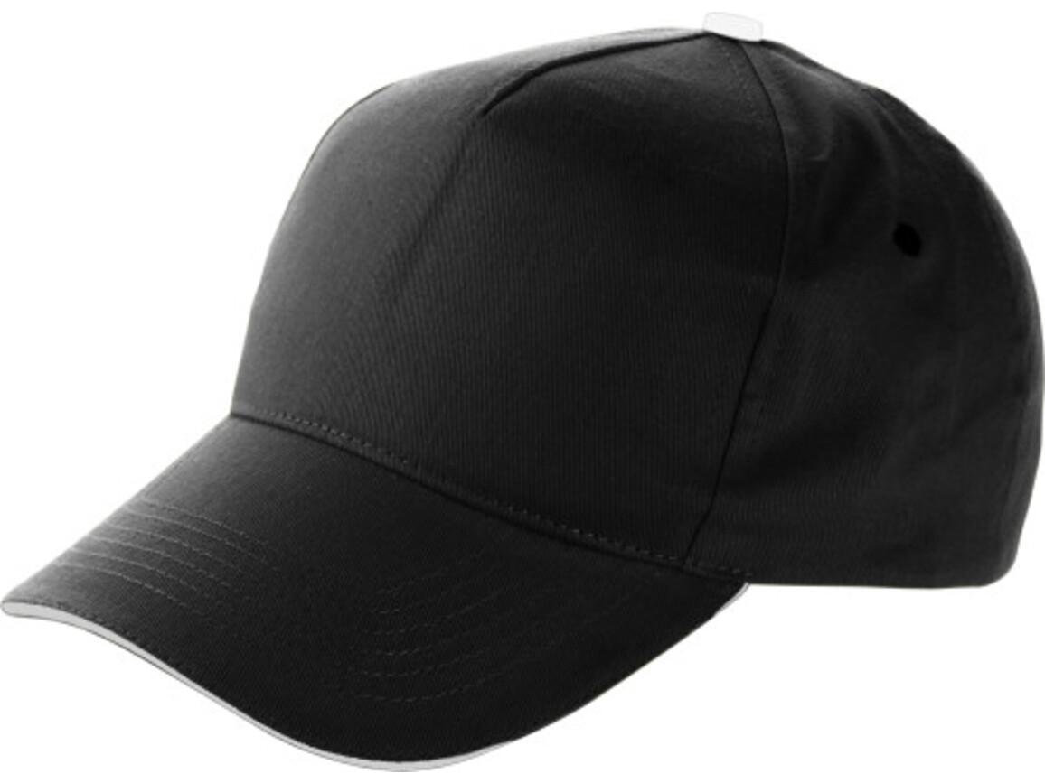 Baseball-Cap 'Dallas' aus Baumwolle – Schwarz bedrucken, Art.-Nr. 001999999_9114