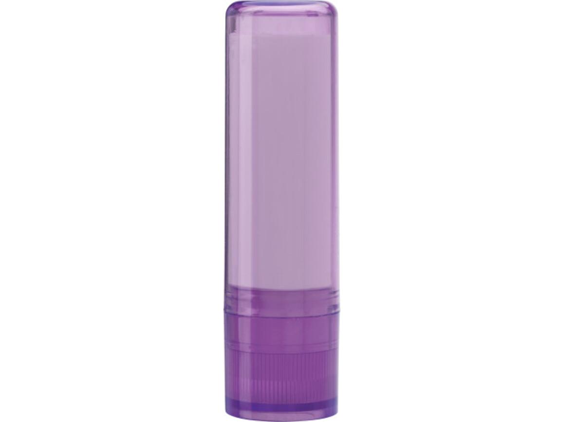 Lippenbalsam 'Basic' mit Lichtschutzfaktor 15 – Violett bedrucken, Art.-Nr. 024999999_9534