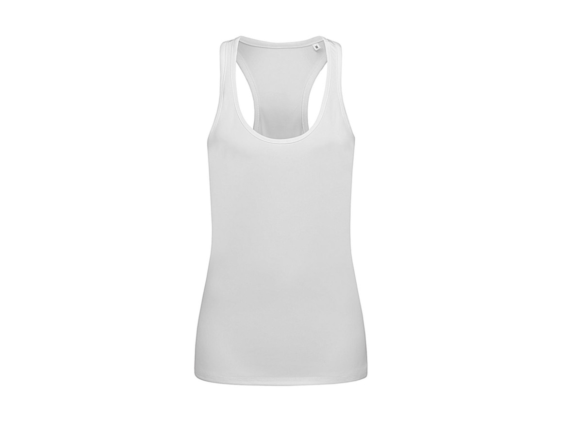 Stedman Active 140 Tank Women, White, XL bedrucken, Art.-Nr. 010050006