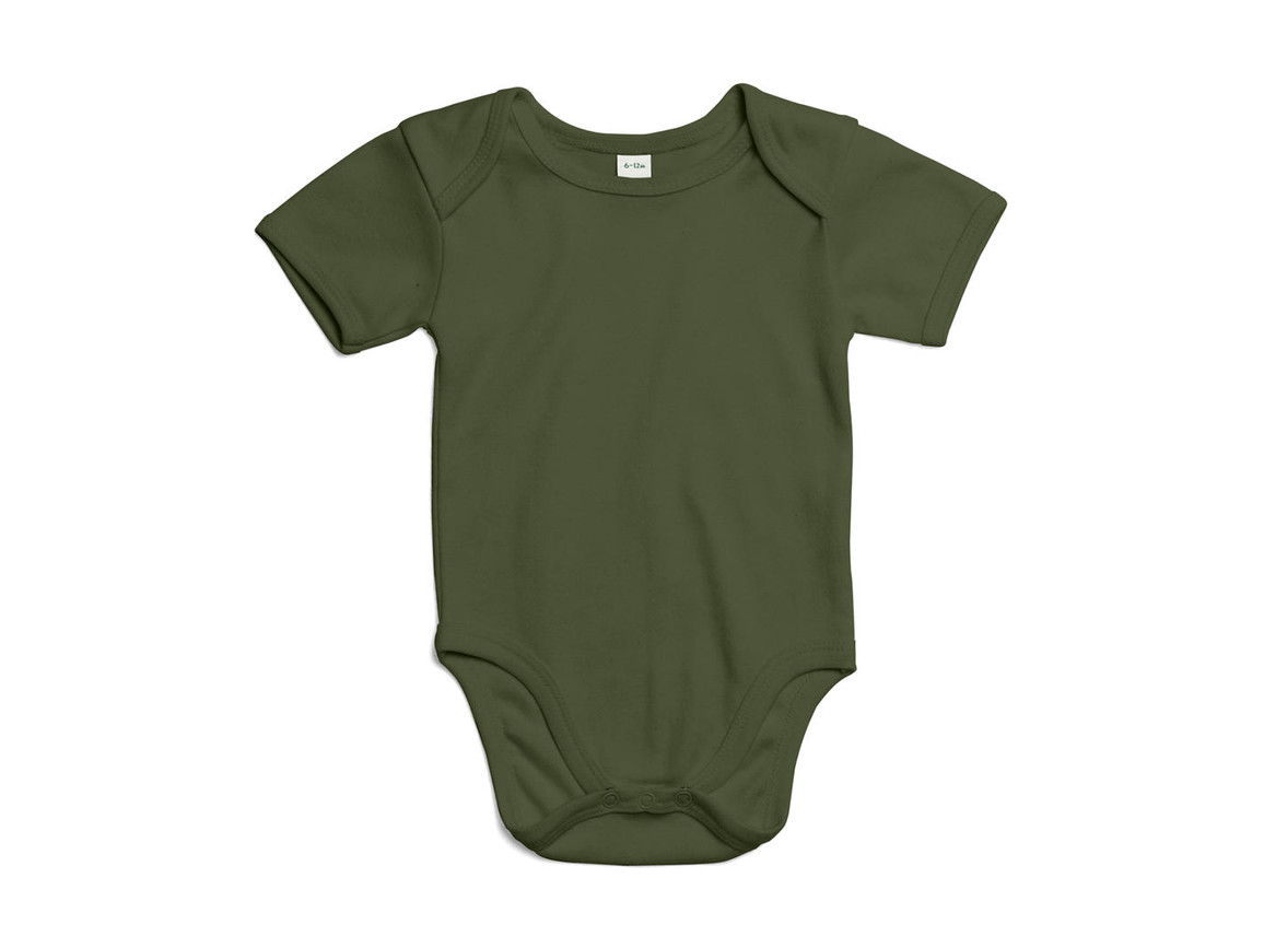 BabyBugz Baby Bodysuit, Light Olive Organic, 0-3 bedrucken, Art.-Nr. 010475291