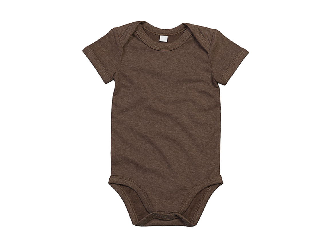 BabyBugz Baby Bodysuit, Mocha Organic, 12-18 bedrucken, Art.-Nr. 010477294