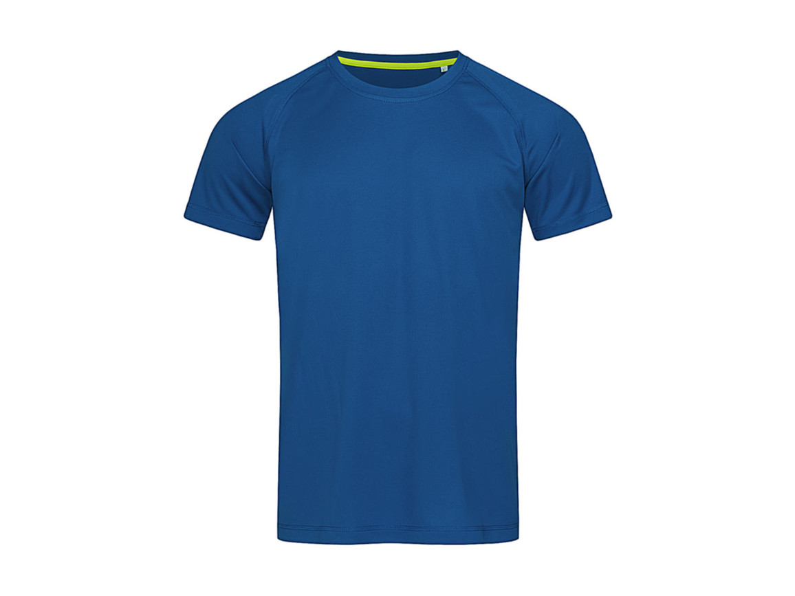 Stedman Active 140 Raglan Men, King Blue, S bedrucken, Art.-Nr. 012053043