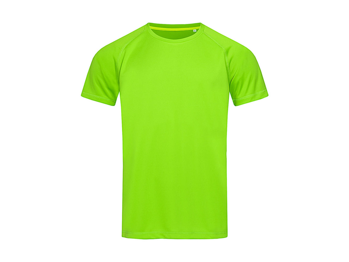Stedman Active 140 Raglan Men, Kiwi Green, XL bedrucken, Art.-Nr. 012055256