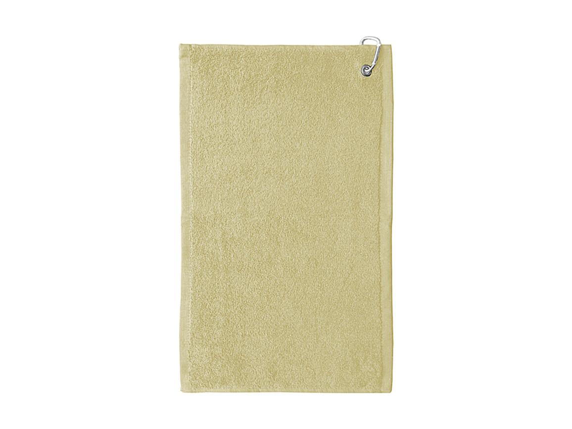 Jassz Towels Thames Golf Towel 30x50 cm, Sand, One Size bedrucken, Art.-Nr. 012647410