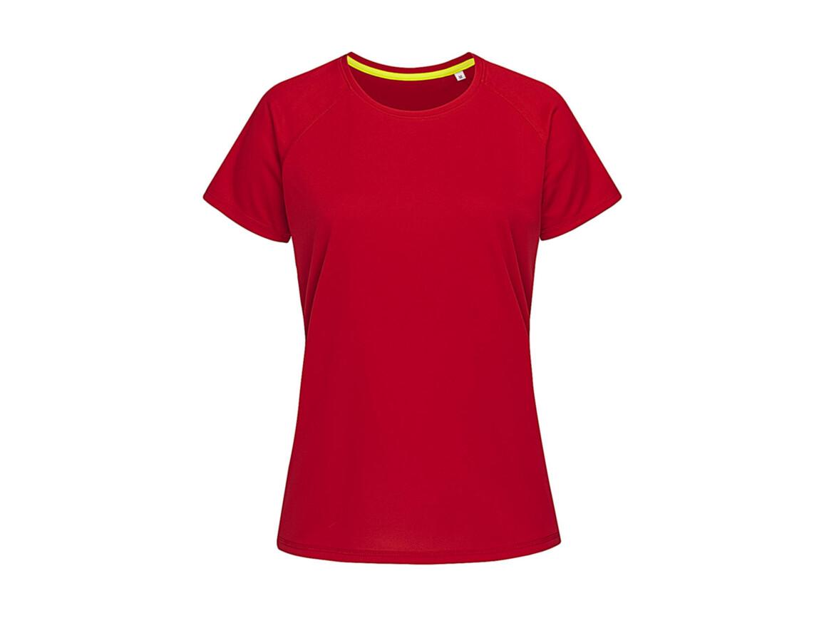 Stedman Active 140 Raglan Women, Crimson Red, M bedrucken, Art.-Nr. 014054414