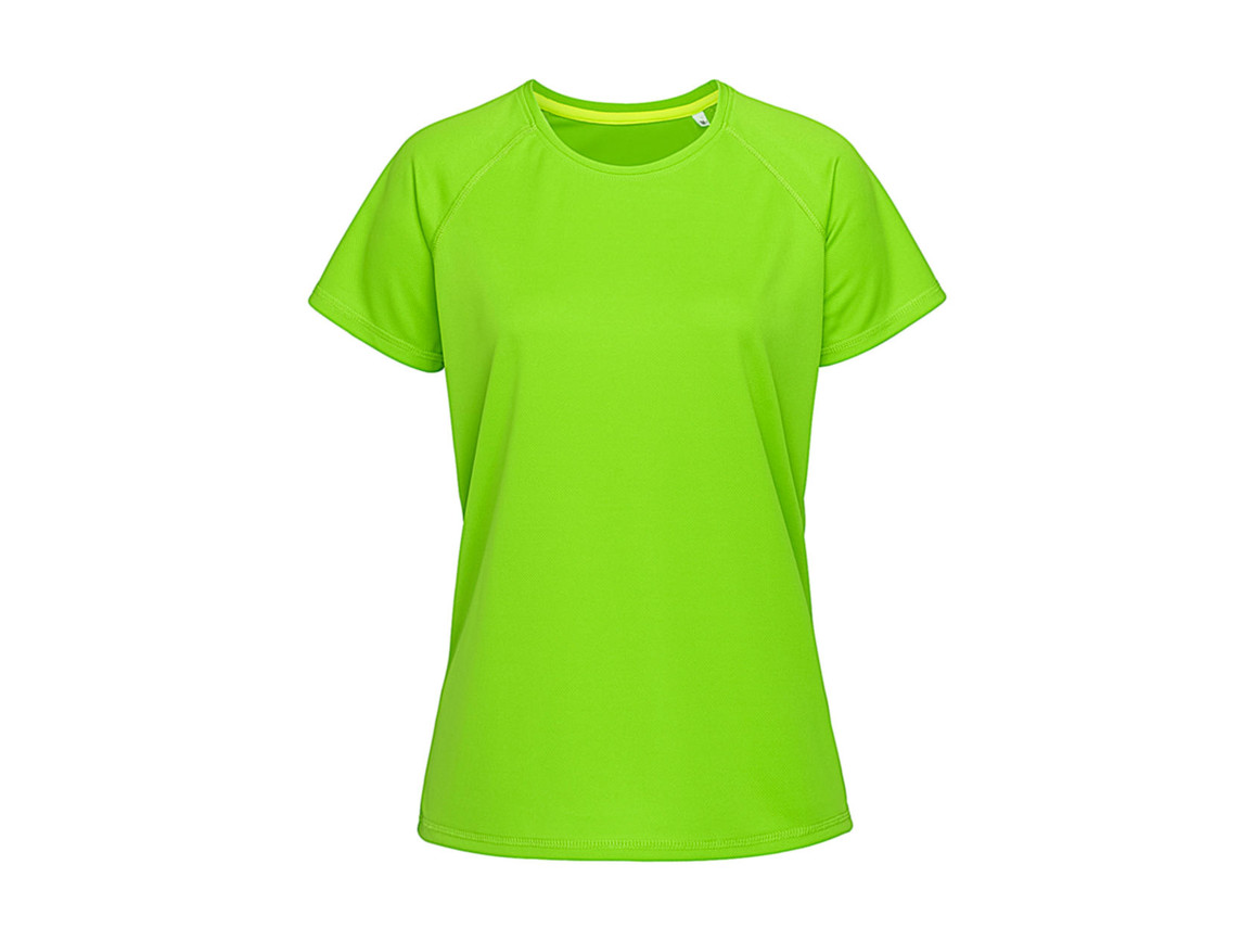 Stedman Active 140 Raglan Women, Kiwi Green, S bedrucken, Art.-Nr. 014055253