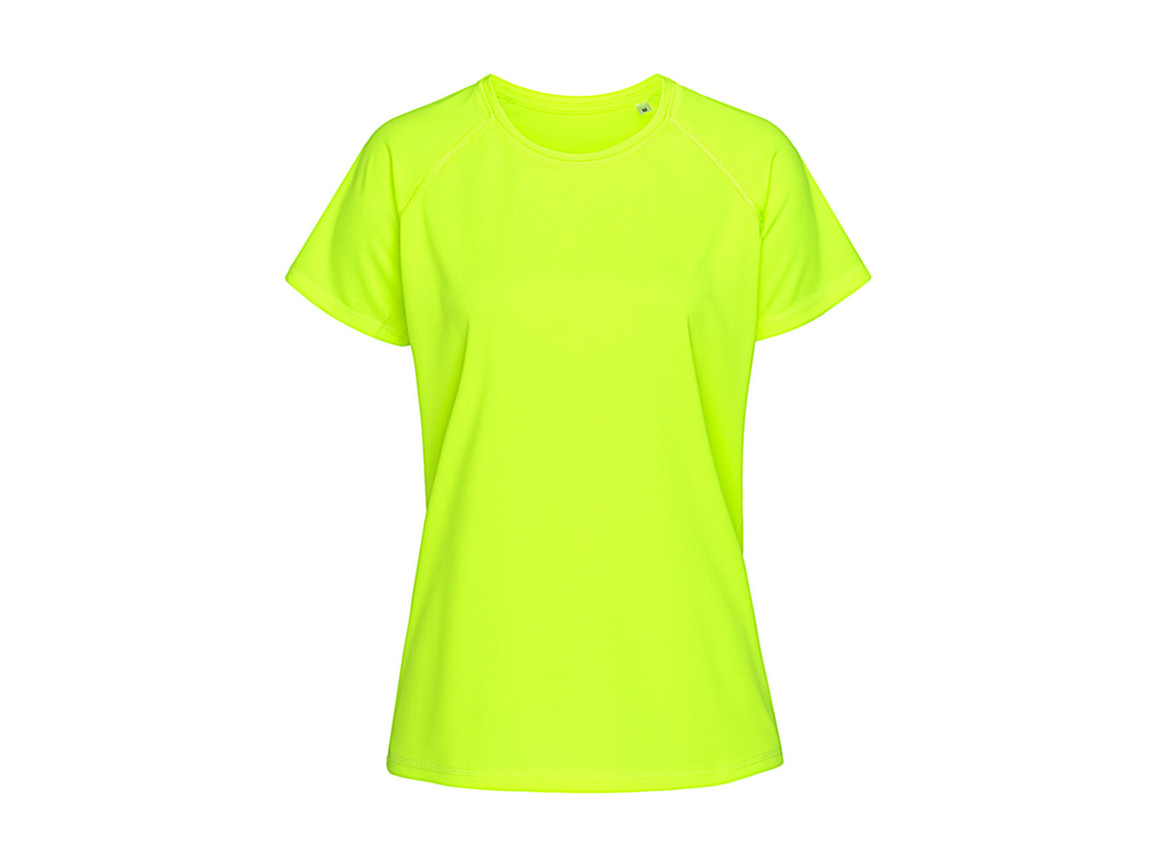 Stedman Active 140 Raglan Women, Cyber Yellow, XL bedrucken, Art.-Nr. 014056066