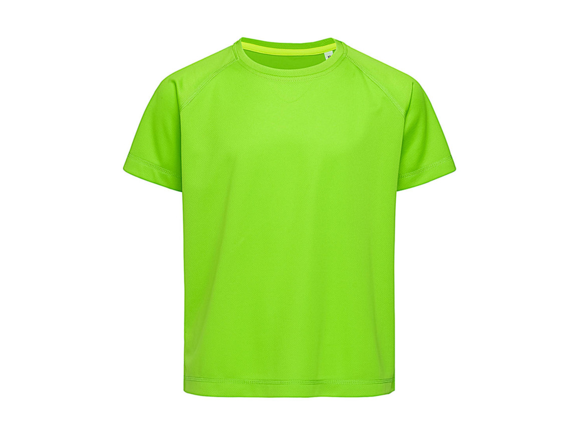 Stedman Active 140 Raglan Kids, Kiwi Green, M (134-140) bedrucken, Art.-Nr. 015055254