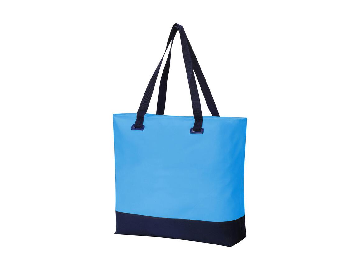 Shugon Bürmoos Wellness Leisure Bag, Light Blue/French Navy, One Size bedrucken, Art.-Nr. 015383560