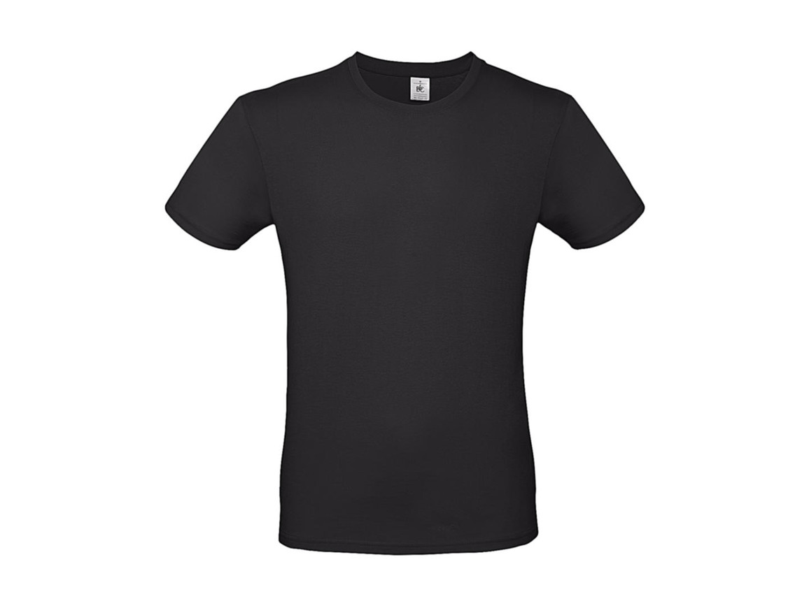 B & C #E150 T-Shirt, Urban Black, M bedrucken, Art.-Nr. 015421062