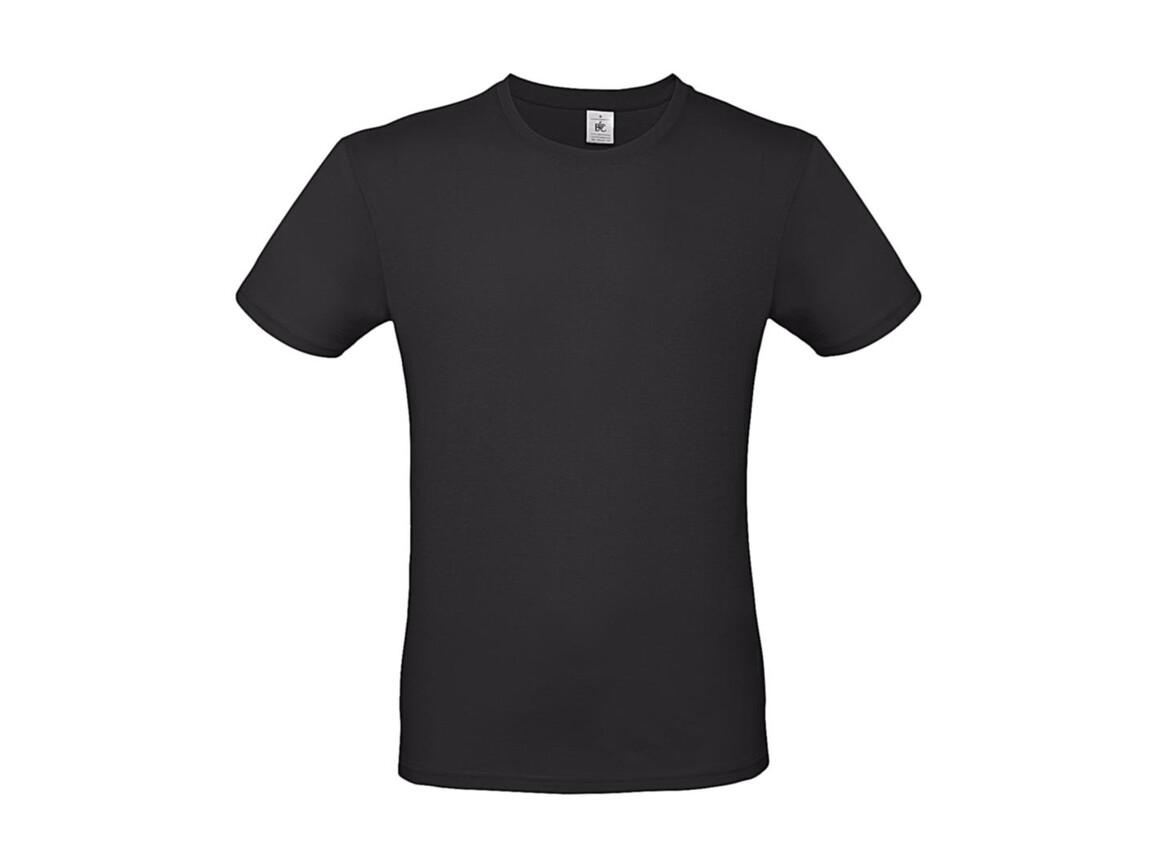 B & C #E150 T-Shirt, Used Black, S bedrucken, Art.-Nr. 015421121
