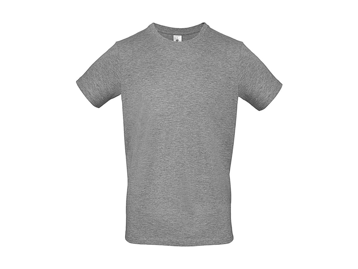 B & C #E150 T-Shirt, Sport Grey, XL bedrucken, Art.-Nr. 015421254