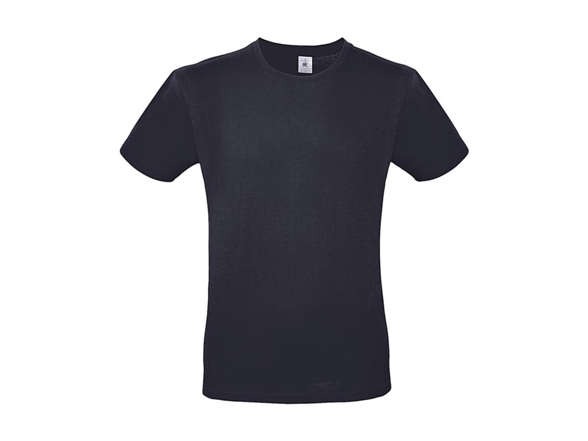 B & C #E150 T-Shirt, Light Navy, M bedrucken, Art.-Nr. 015422062