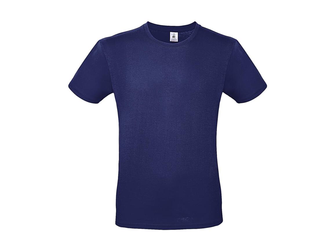 B & C #E150 T-Shirt, Electric Blue, S bedrucken, Art.-Nr. 015423081