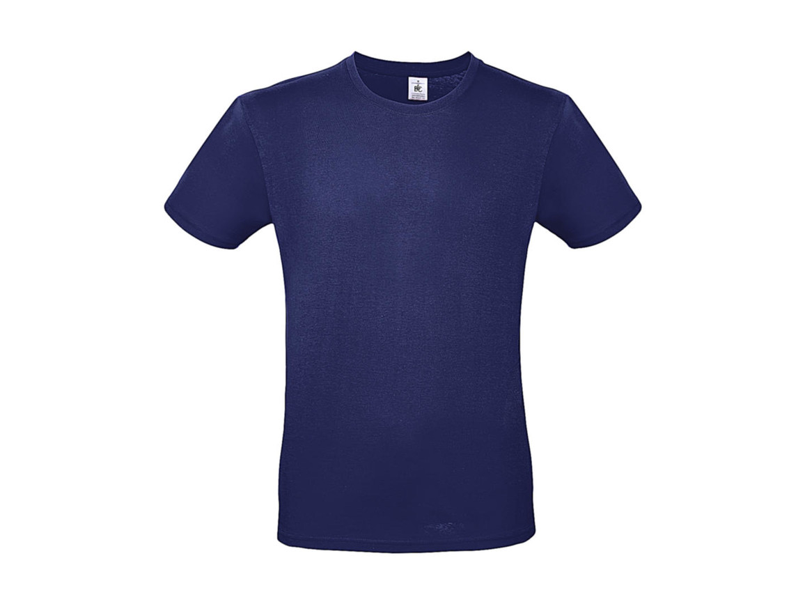 B & C #E150 T-Shirt, Electric Blue, XS bedrucken, Art.-Nr. 015423080