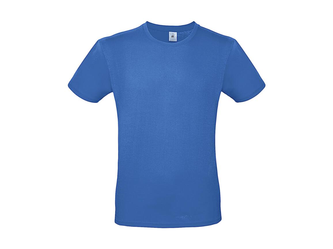 B & C #E150 T-Shirt, Azure, S bedrucken, Art.-Nr. 015423101