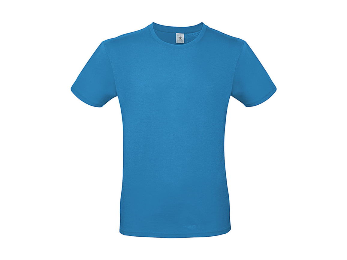 B & C #E150 T-Shirt, Atoll, 3XL bedrucken, Art.-Nr. 015423146