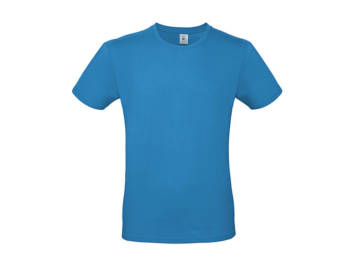 B & C #E150 T-Shirt, Atoll, L bedrucken, Art.-Nr. 015423143