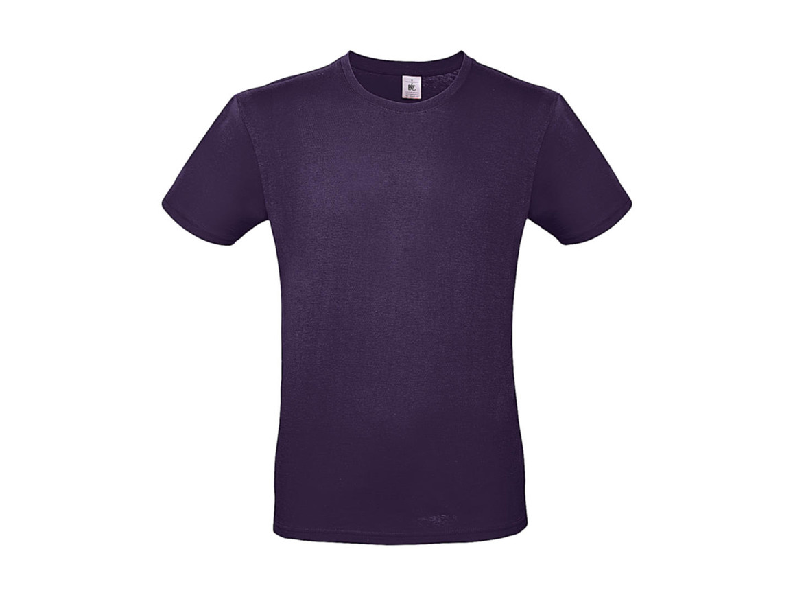 B & C #E150 T-Shirt, Urban Purple, L bedrucken, Art.-Nr. 015423473
