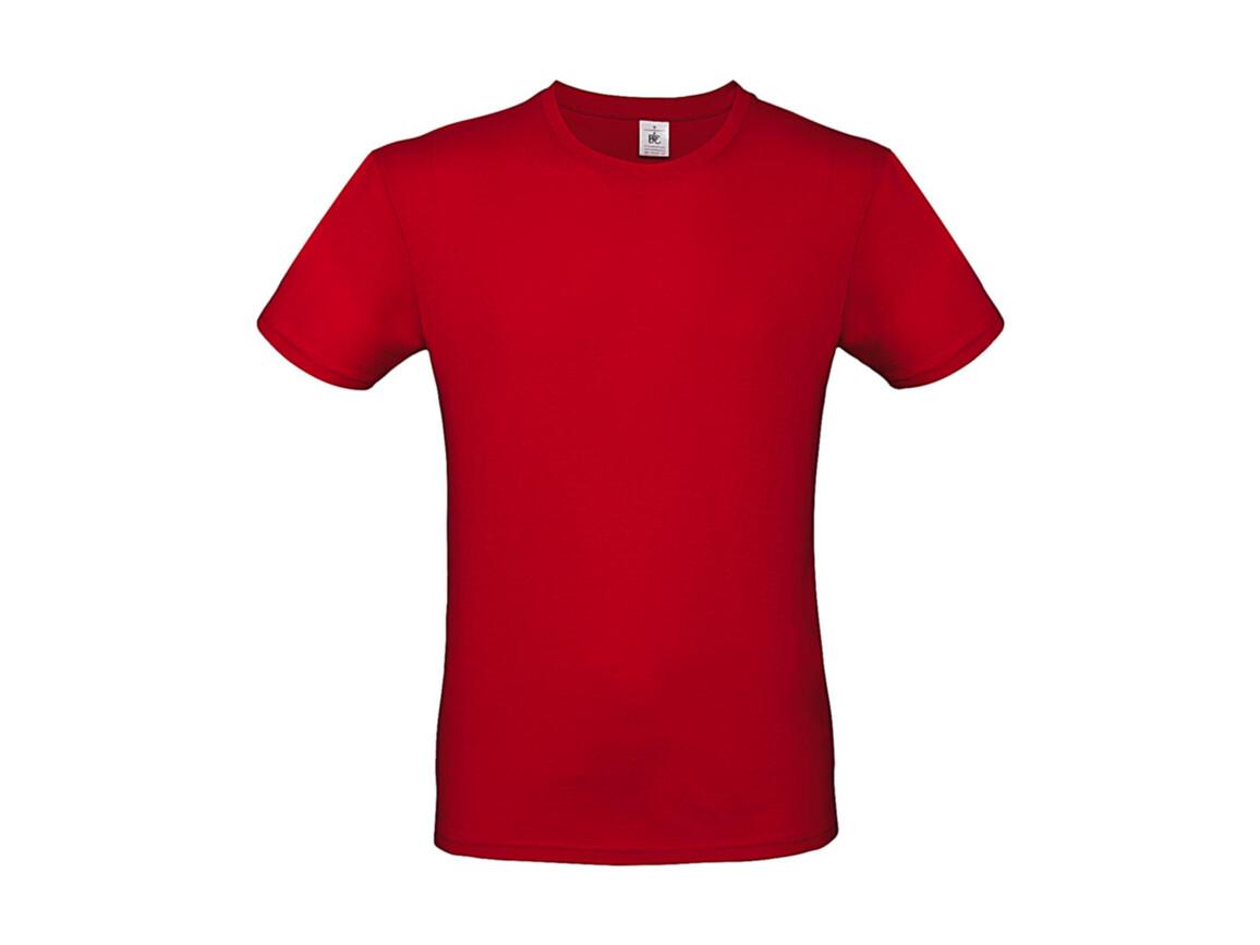 B & C #E150 T-Shirt, Red, 3XL bedrucken, Art.-Nr. 015424006