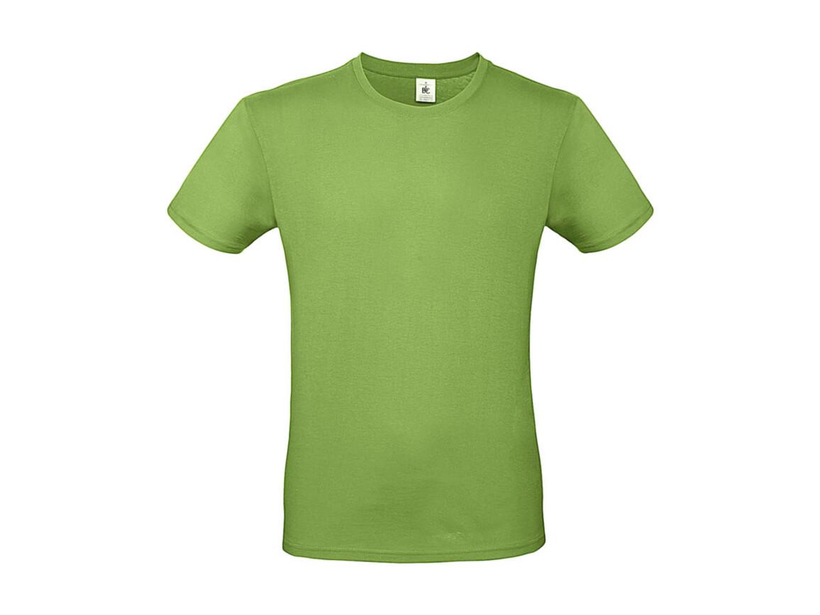B & C #E150 T-Shirt, Pistachio, XL bedrucken, Art.-Nr. 015425504