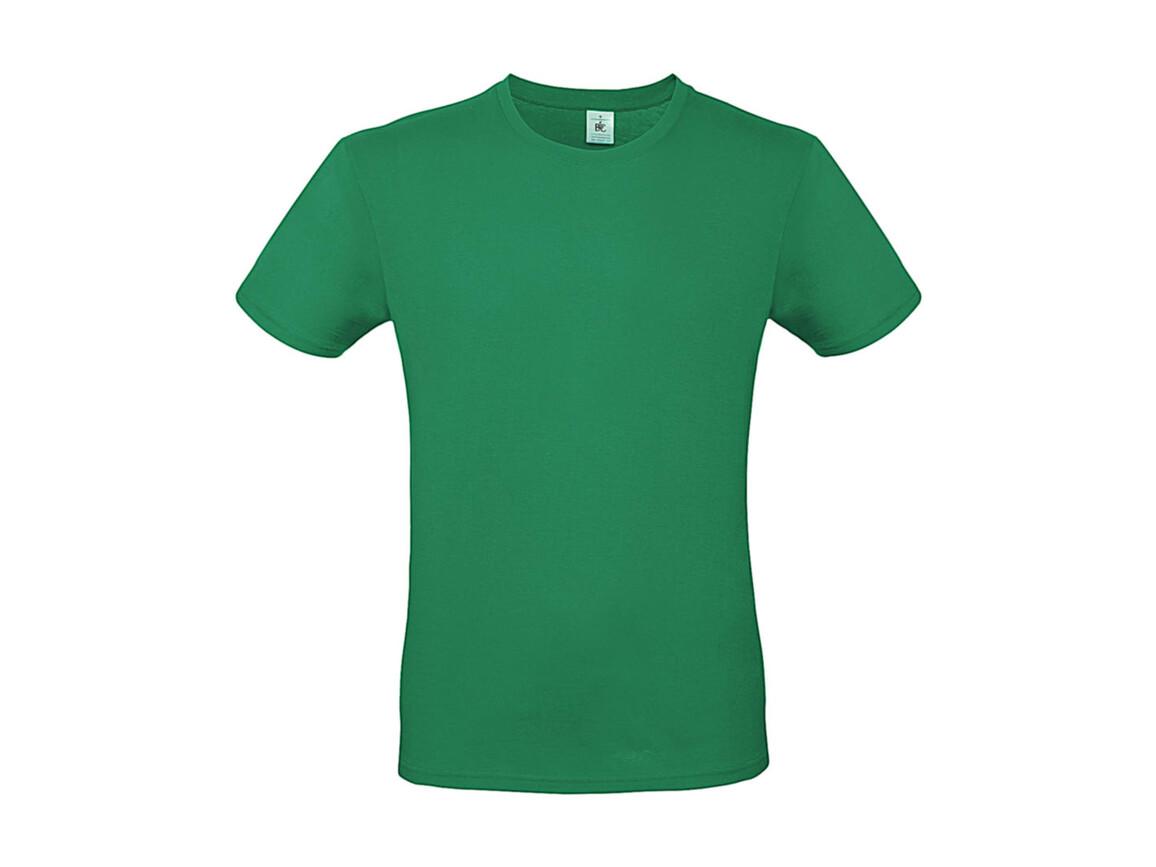 B & C #E150 T-Shirt, Kelly Green, S bedrucken, Art.-Nr. 015425181
