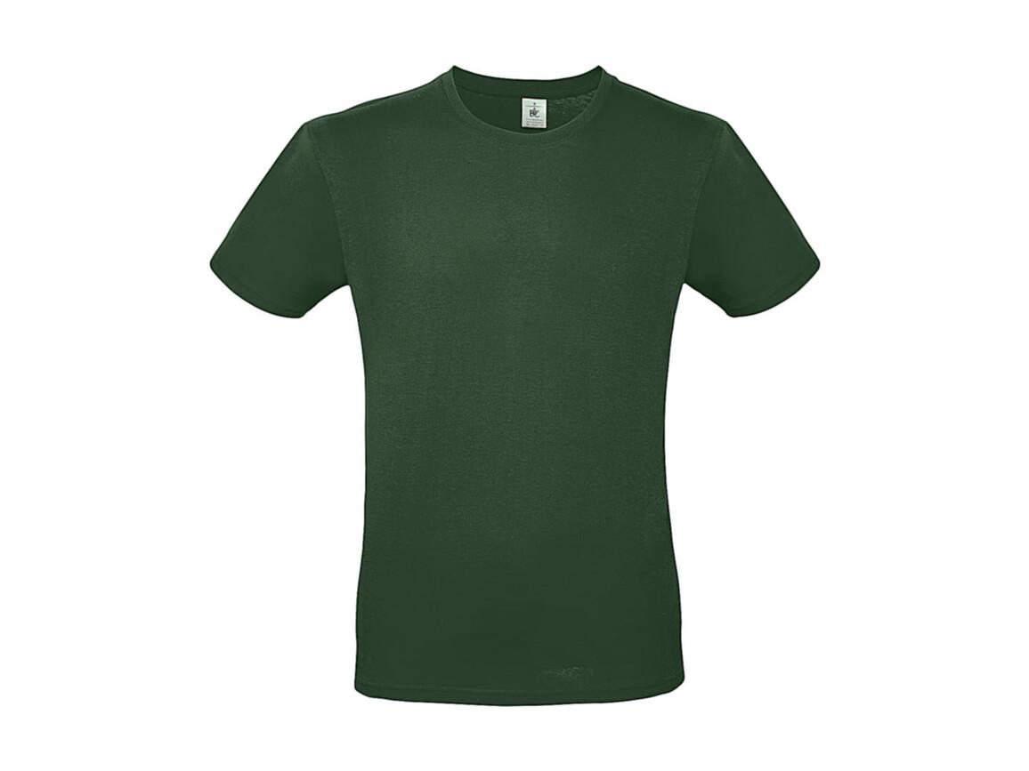 B & C #E150 T-Shirt, Bottle Green, L bedrucken, Art.-Nr. 015425403