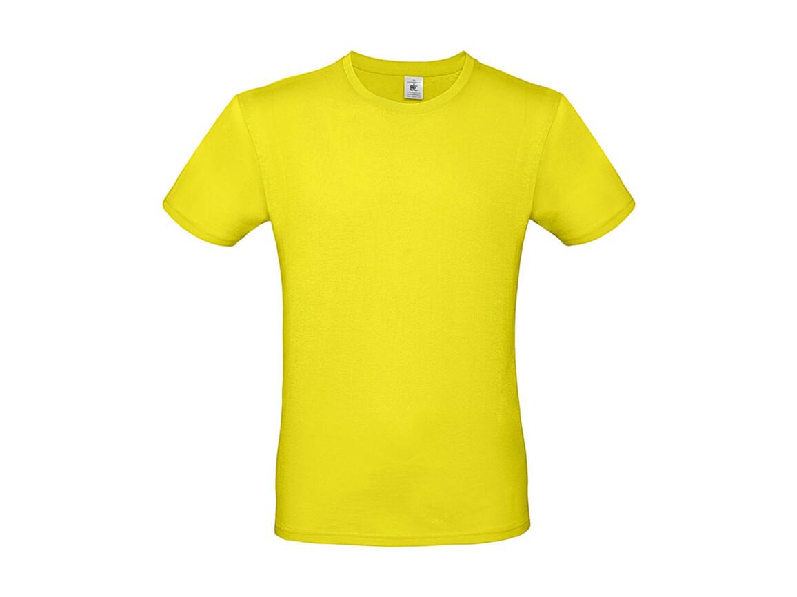 B & C #E150 T-Shirt, Solar Yellow, 2XL bedrucken, Art.-Nr. 015426075