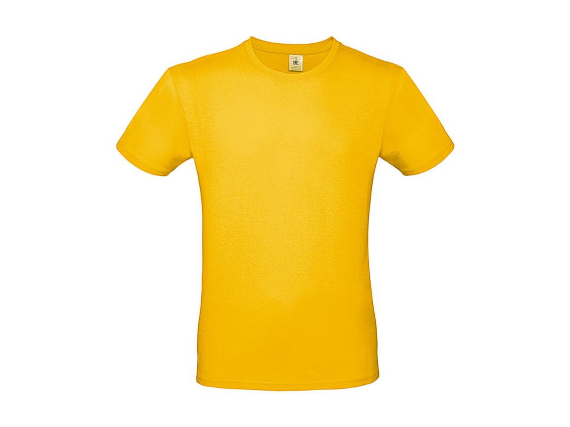 B & C #E150 T-Shirt, Gold, S bedrucken, Art.-Nr. 015426431