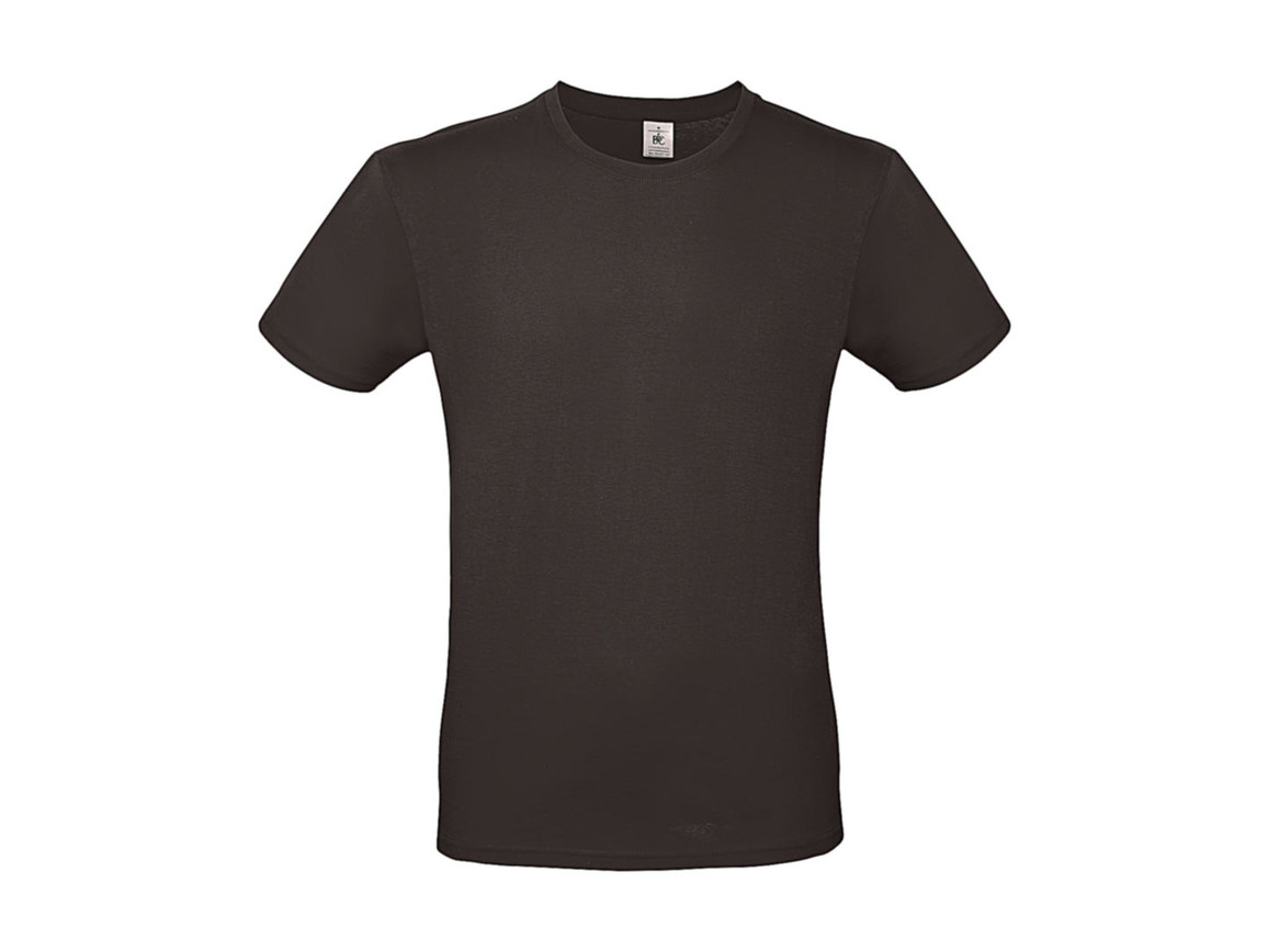 B & C #E150 T-Shirt, Bear Brown, S bedrucken, Art.-Nr. 015427101
