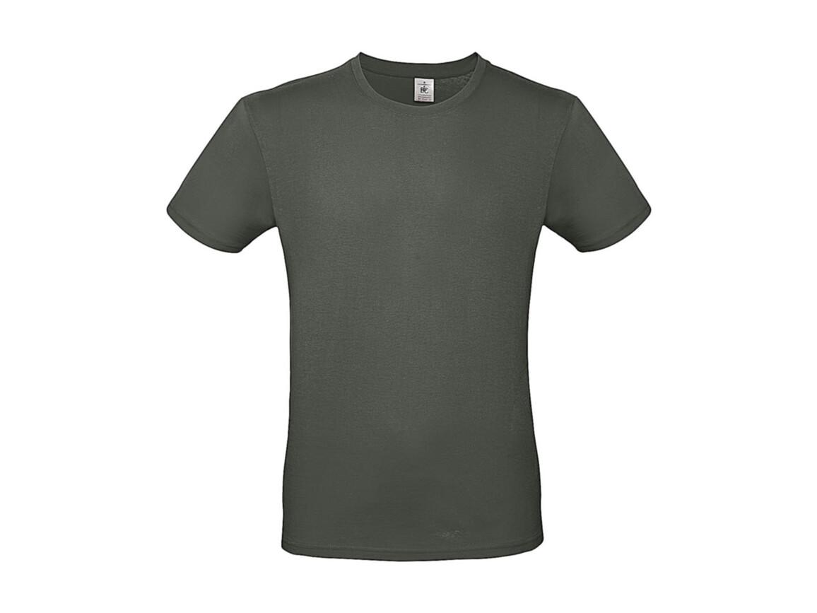 B & C #E150 T-Shirt, Millenial Khaki, 3XL bedrucken, Art.-Nr. 015427336