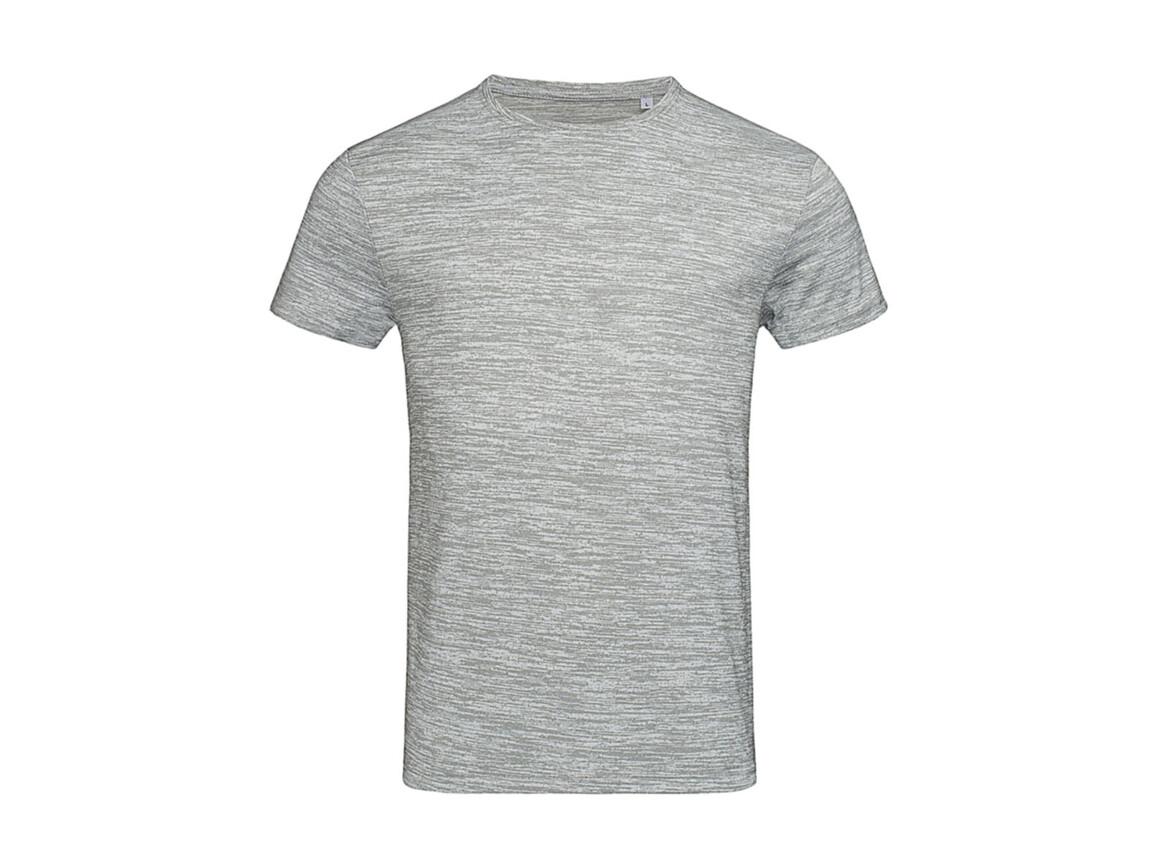 Stedman Active Intense Tech T-Shirt, Grey Heather, 2XL bedrucken, Art.-Nr. 016051237