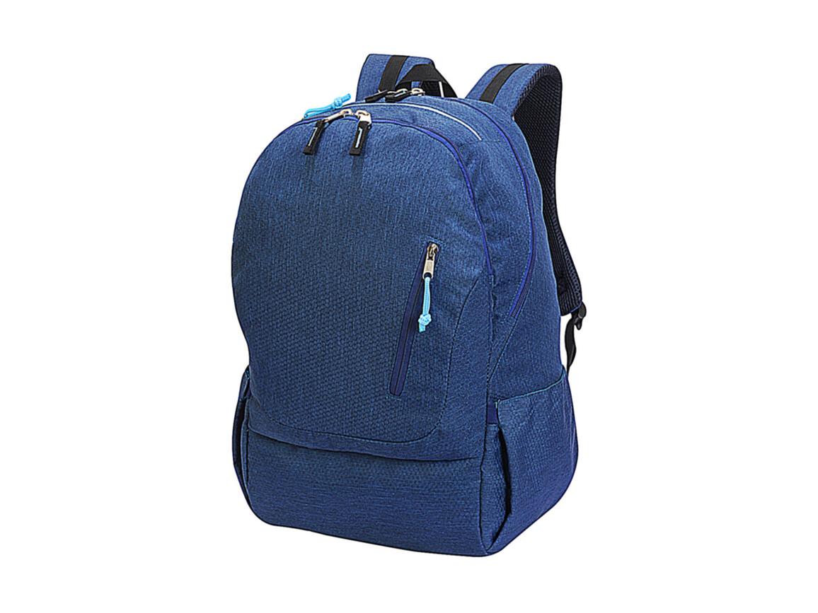 Shugon Cologne Absolute Laptop Backpack, Denim Melange, One Size bedrucken, Art.-Nr. 016383310