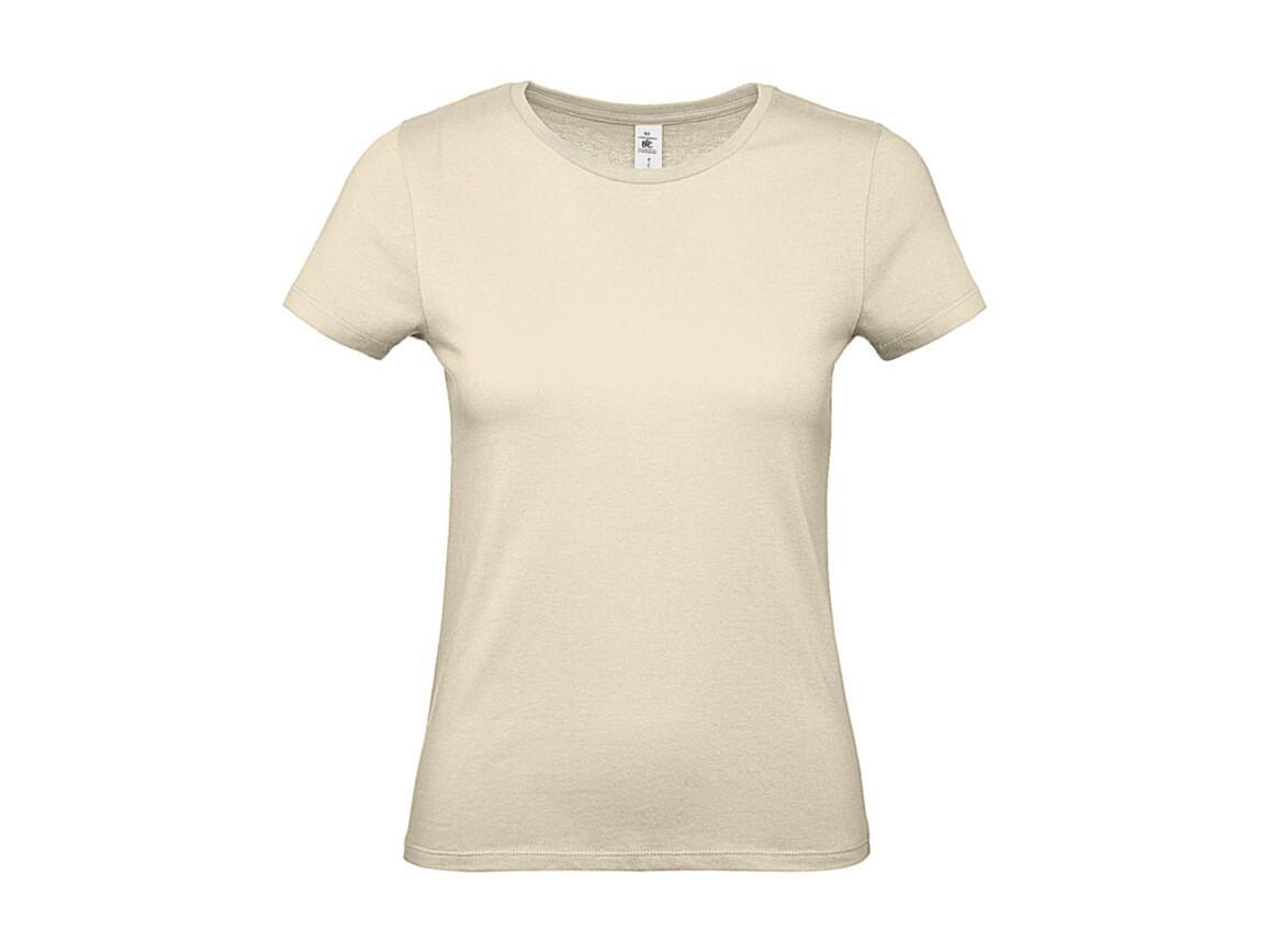 B & C #E150 /women T-Shirt, Natural, L bedrucken, Art.-Nr. 016420085