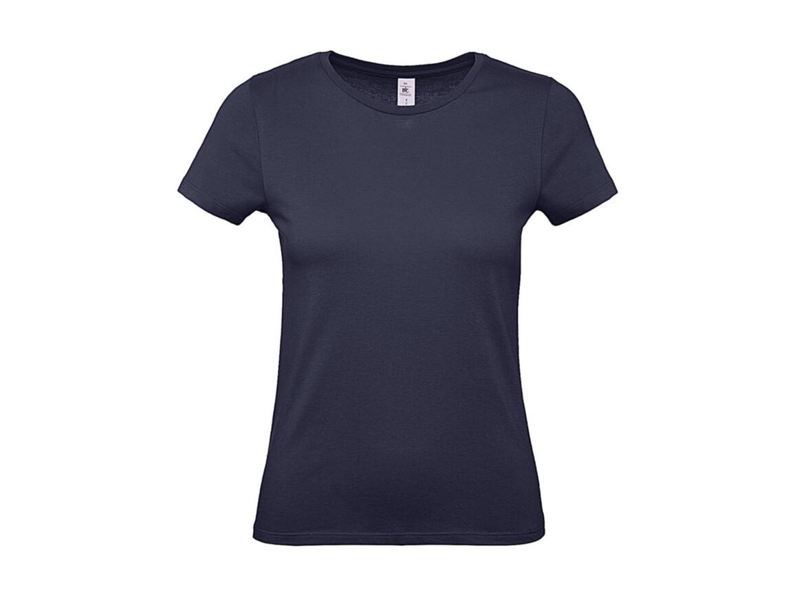 B & C #E150 /women T-Shirt, Urban Navy, S bedrucken, Art.-Nr. 016422073