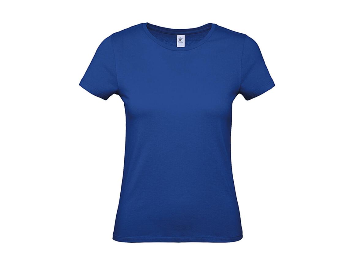 B & C #E150 /women T-Shirt, Royal Blue, L bedrucken, Art.-Nr. 016423005