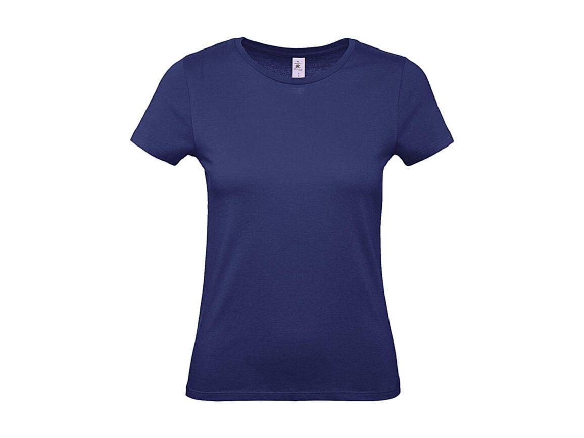B & C #E150 /women T-Shirt, Electric Blue, M bedrucken, Art.-Nr. 016423084