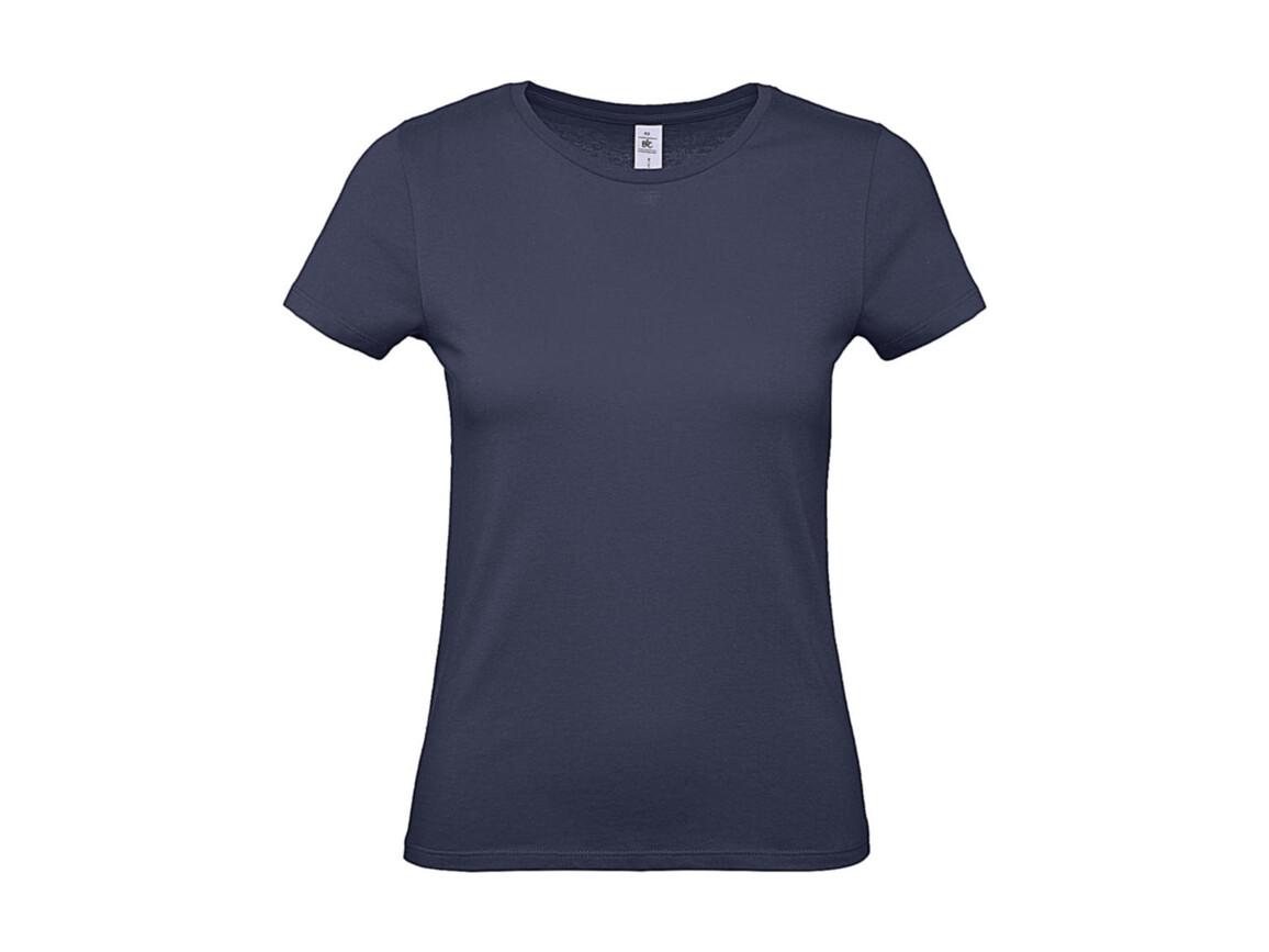 B & C #E150 /women T-Shirt, Denim, XS bedrucken, Art.-Nr. 016423192