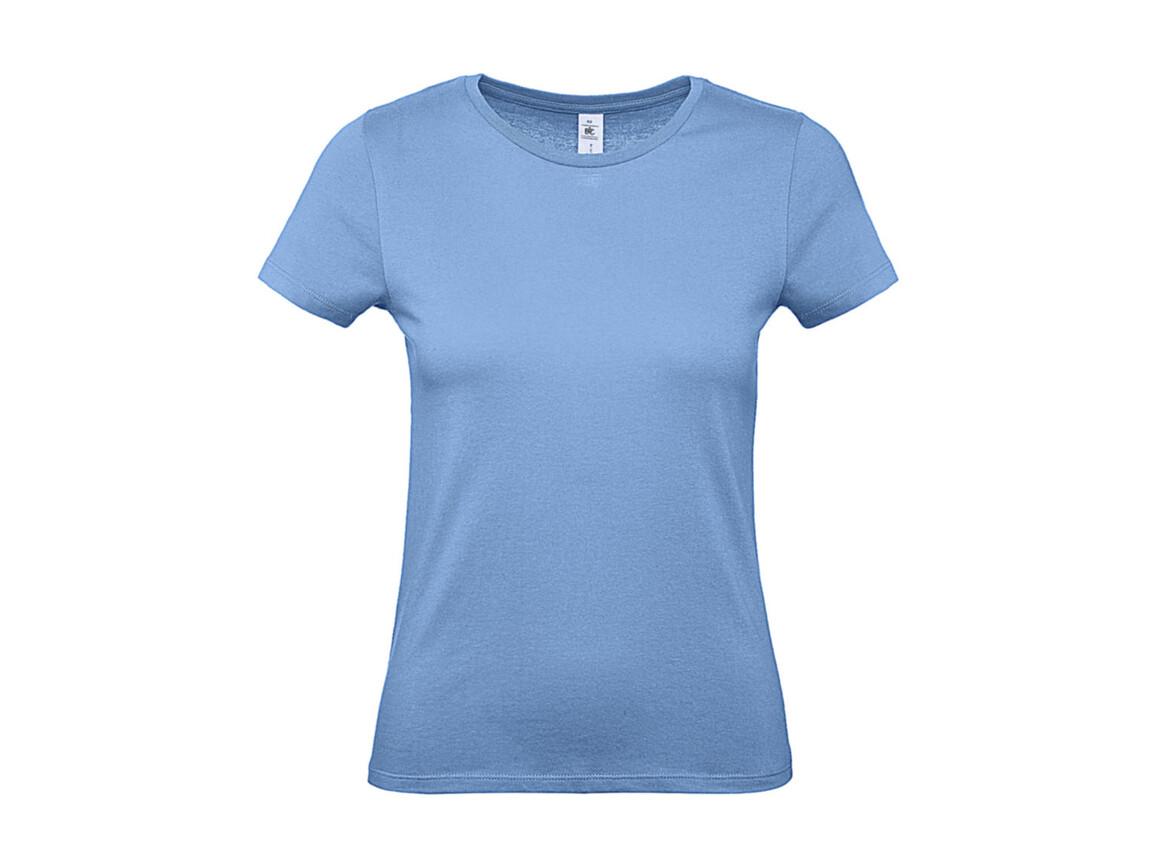 B & C #E150 /women T-Shirt, Sky Blue, XS bedrucken, Art.-Nr. 016423202