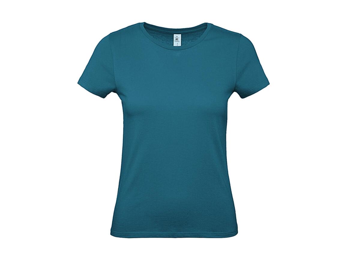 B & C #E150 /women T-Shirt, Diva Blue, XL bedrucken, Art.-Nr. 016423306