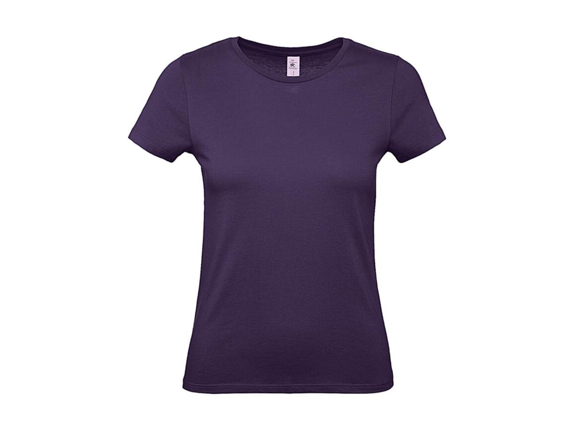 B & C #E150 /women T-Shirt, Urban Purple, XL bedrucken, Art.-Nr. 016423476
